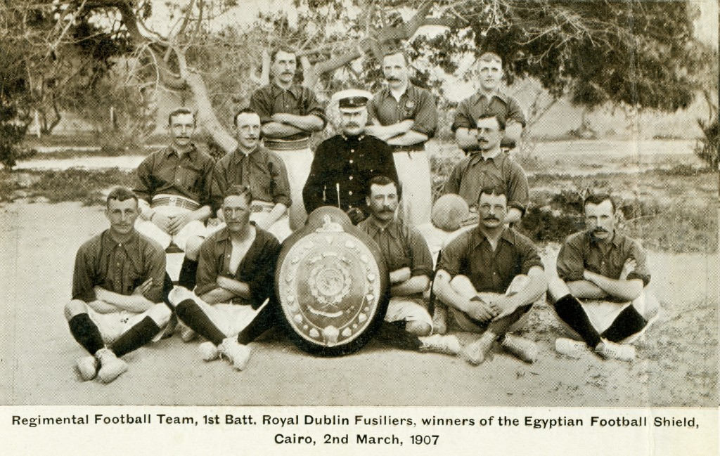 1st Battalion Football Team 1907