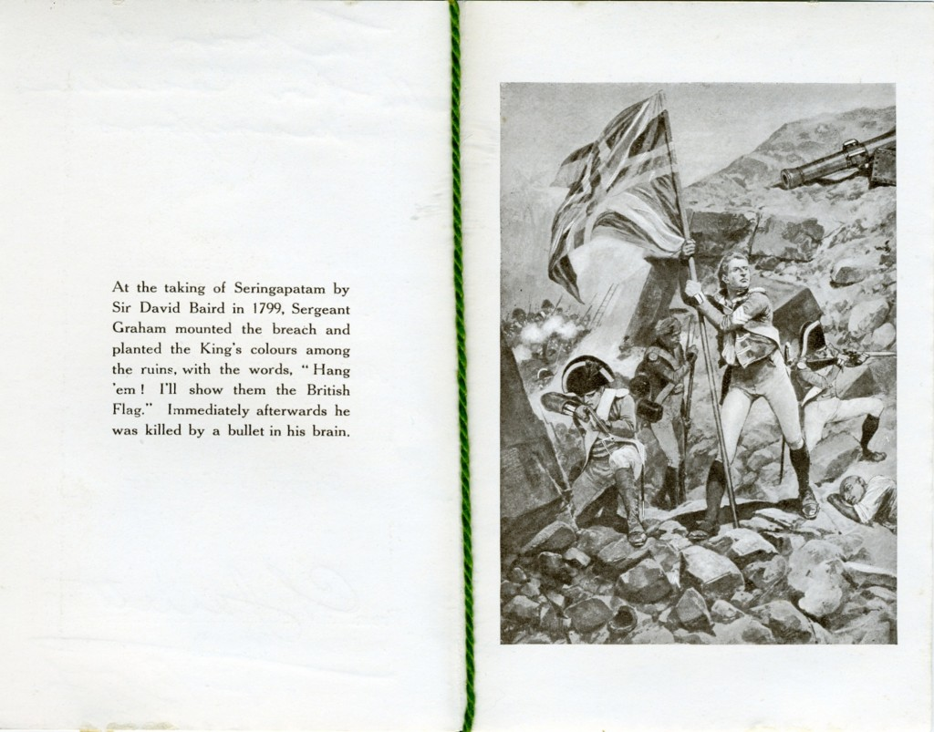 5th Battalion Card inside