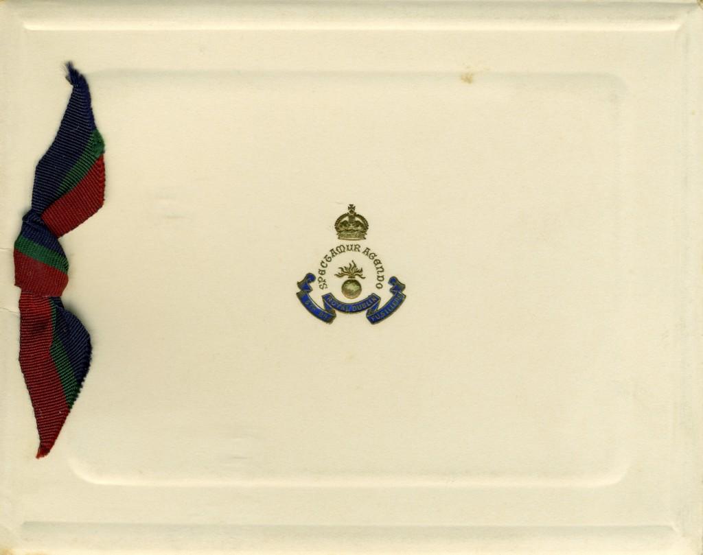 5th Battalion RDF Christmas Card