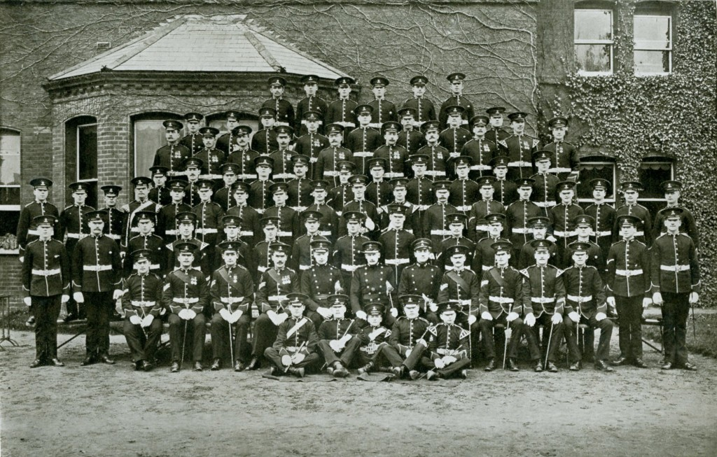 D Company 2nd Battalion 1911