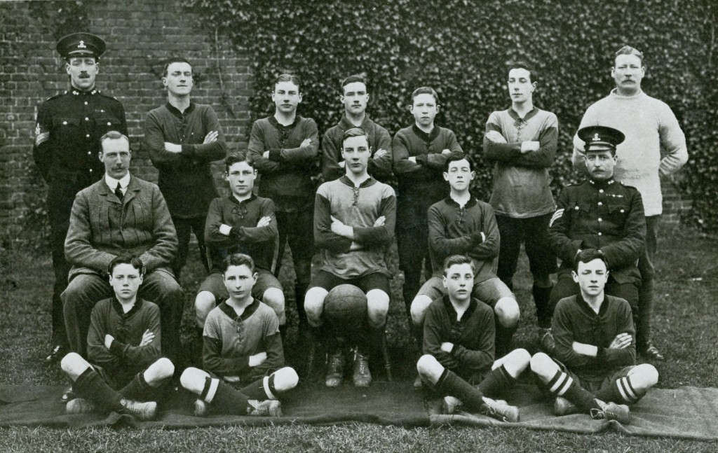 2nd Battalion Enlisted Boys Football Team 1911