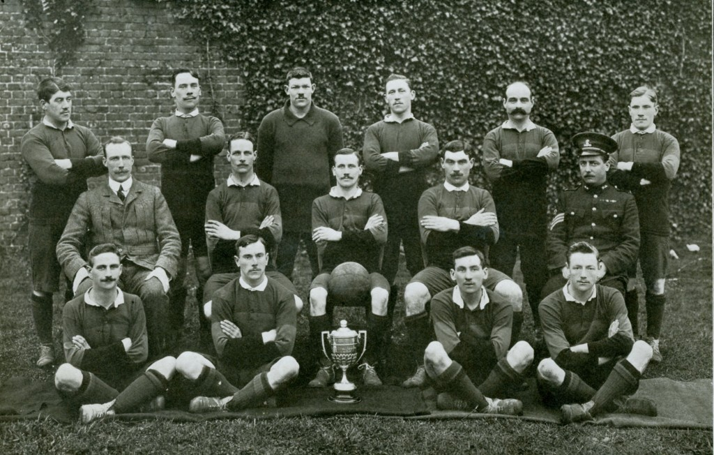 2nd Battalion 2nd XI Football Team 1911