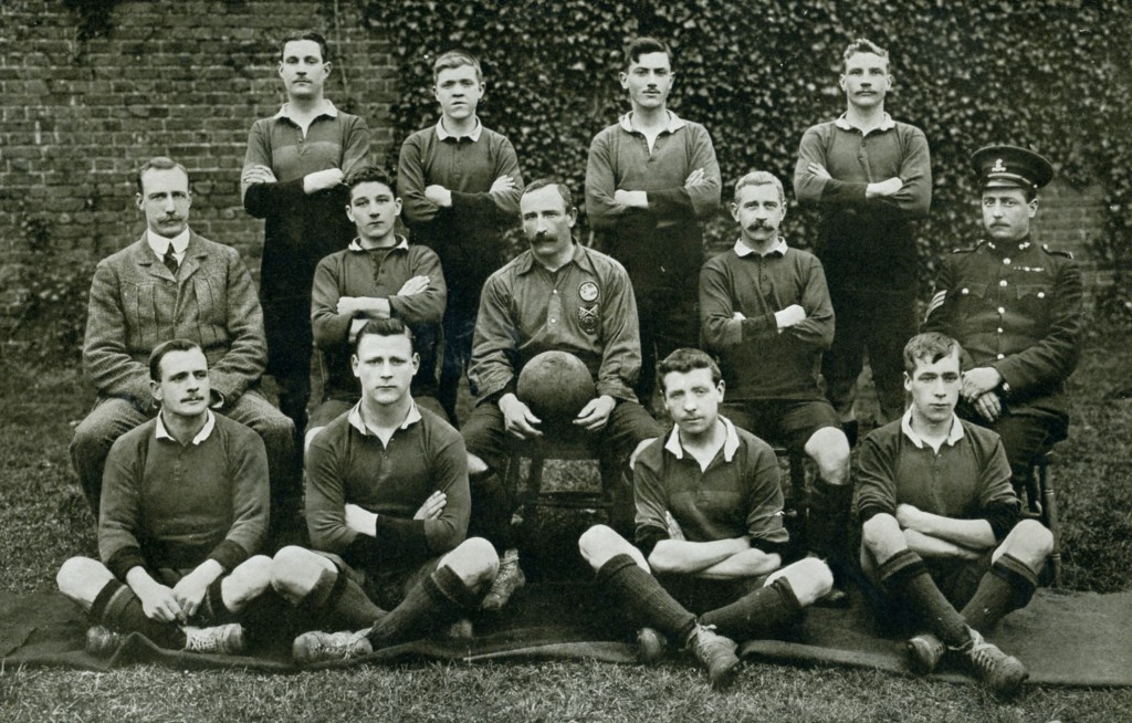 2nd Battalion 1st XI Football Team 1911