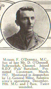 MF O'Donnell