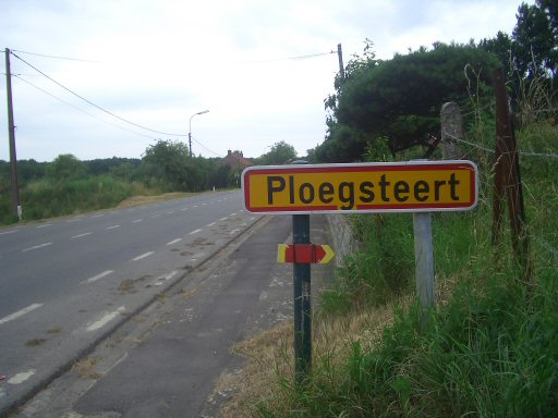 Ploegsteert as it appears today