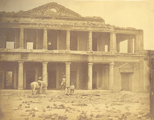 Secundra Bagh shortly after the attack on it.