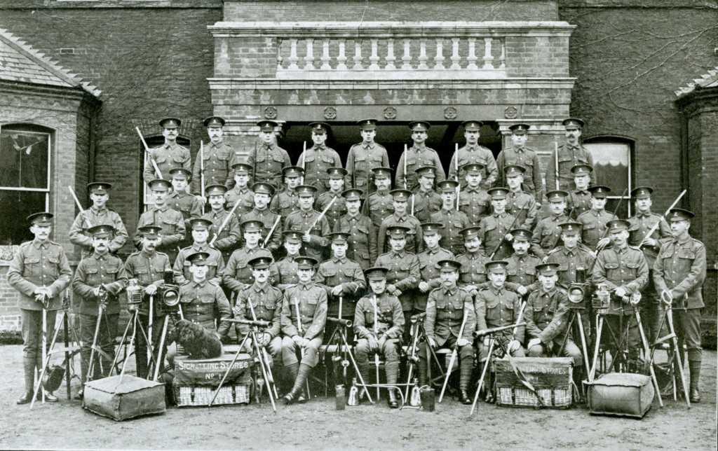 2nd Battalion Signals 1911