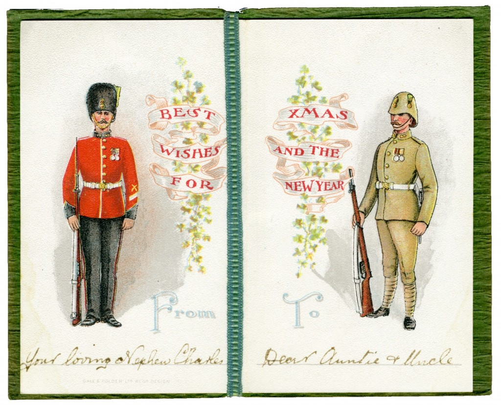 Boer War Card Inside