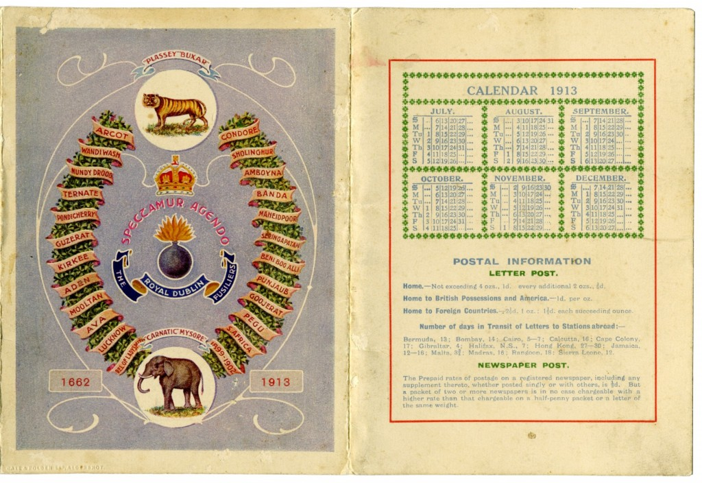 1913 Calendar