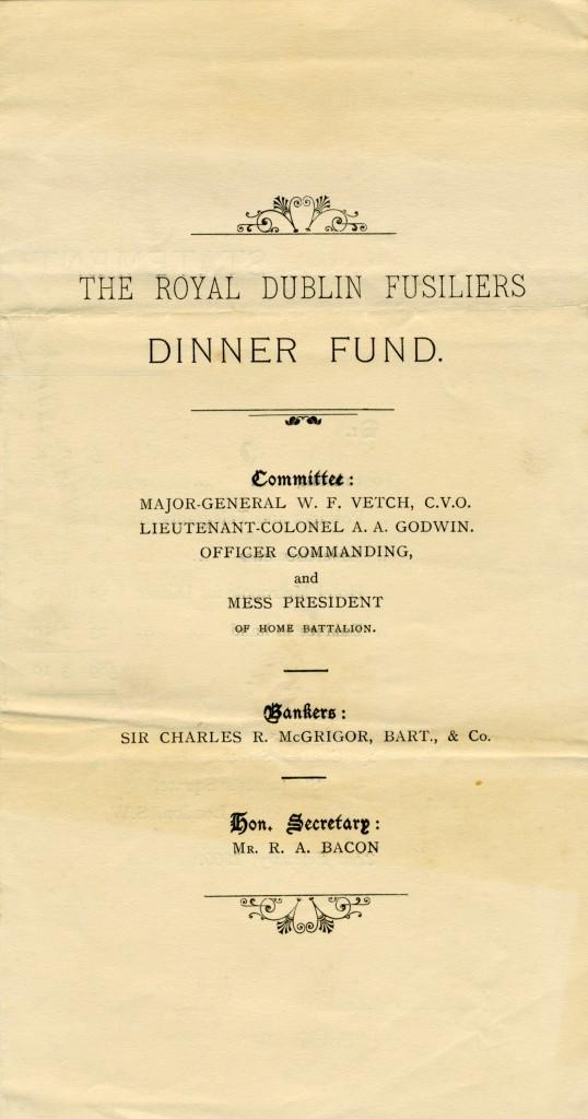 Dinner Fund