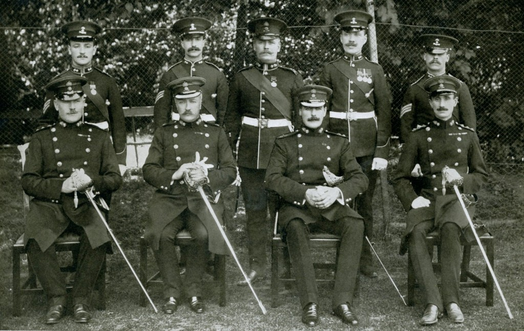 Regimental Staff, Orderly Room and Quartermaster's Office 1911