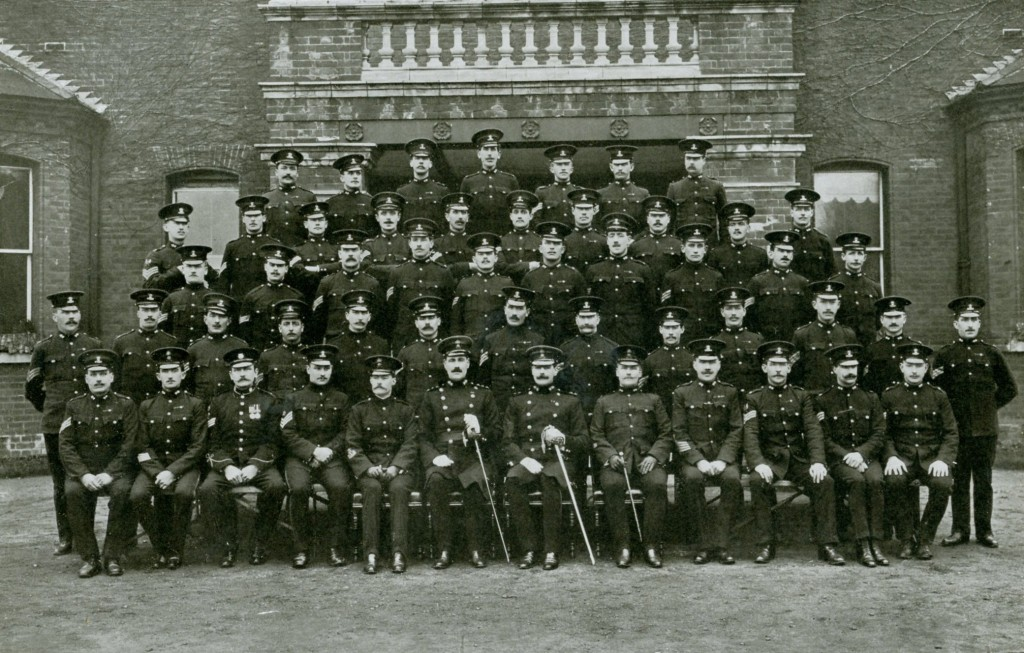 Warrant Officers, Staff Sergeants and Sergeants 2nd Battalion 1911