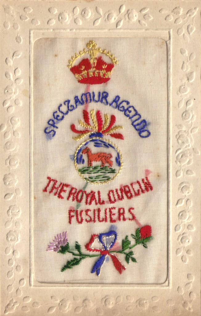 Dublin Fusiliers postcard