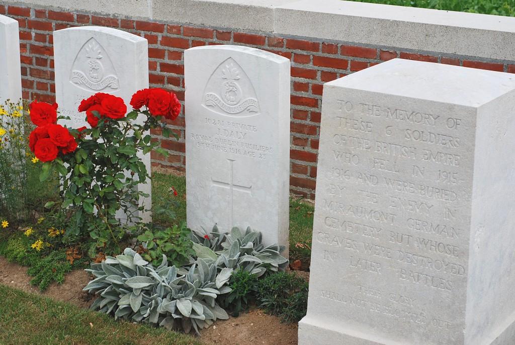 Davies and Daly Memorials