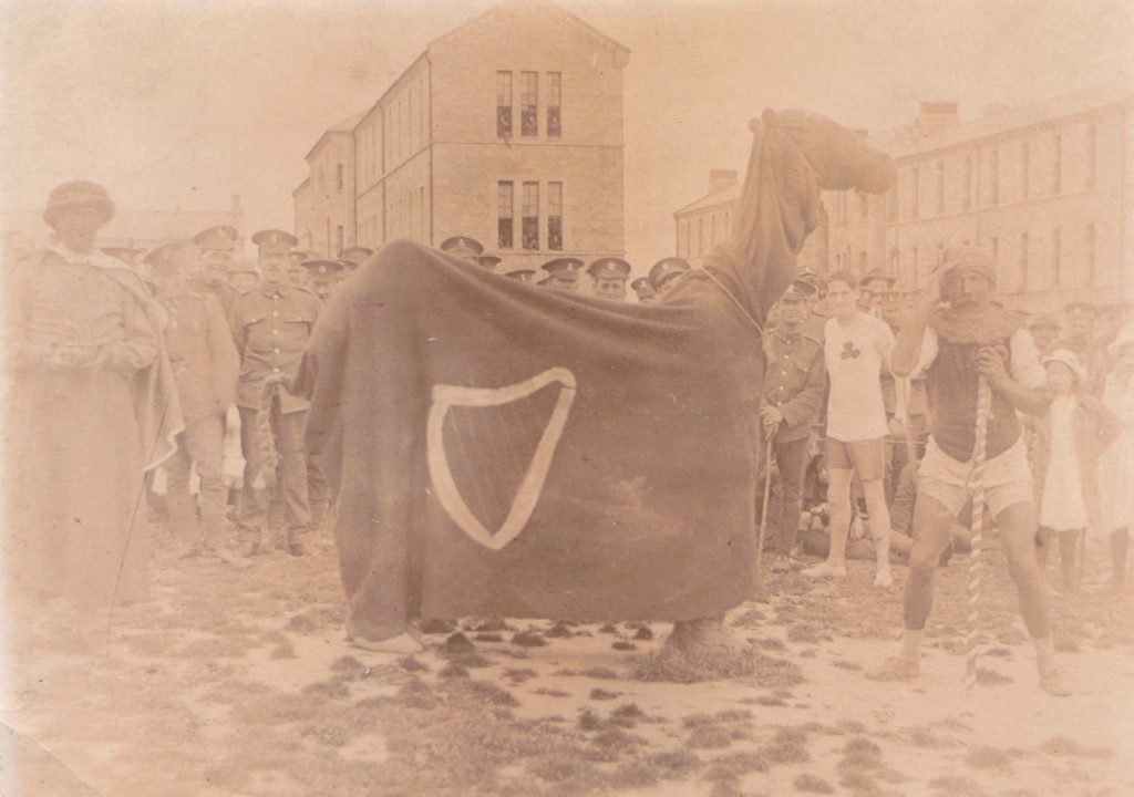 'The Irish Camel' at a sports day in Tipperary