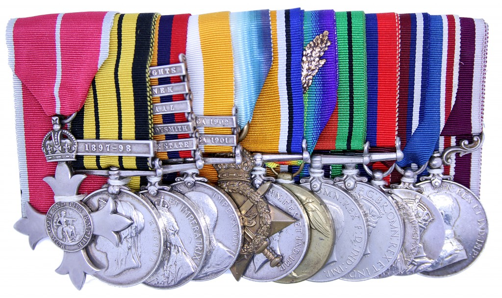 Medal group awarded to Captain W. Shanks including the Queen's South Africa Medal