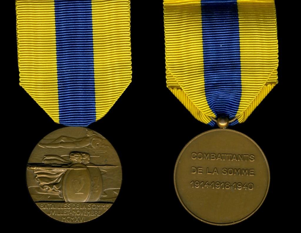 Somme Medal